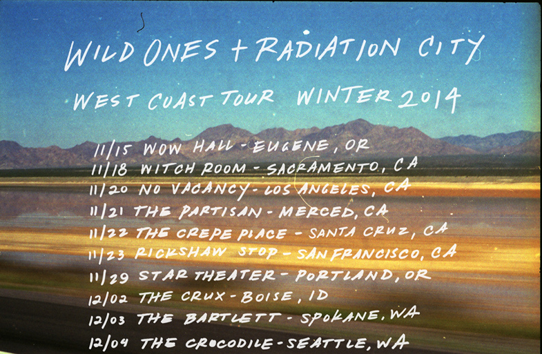 wild ones radiotion fall tour