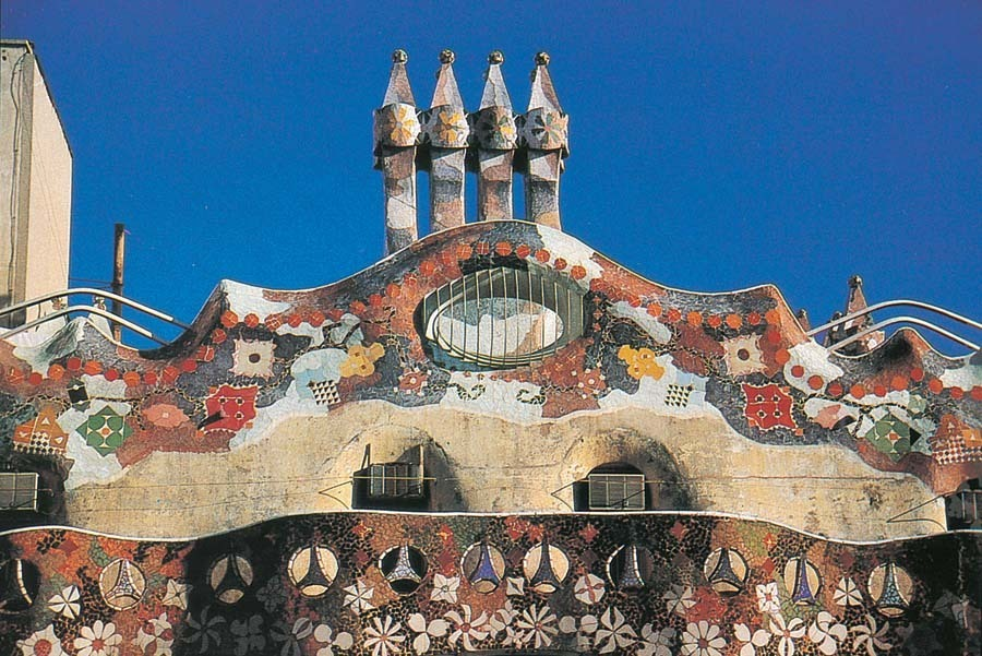 Barcelona-GaudisWorks