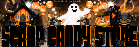 Scrap Candy Store Promo Banner