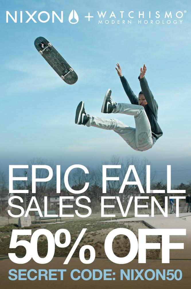 Nixon-Epic-Fall-Sales-Event
