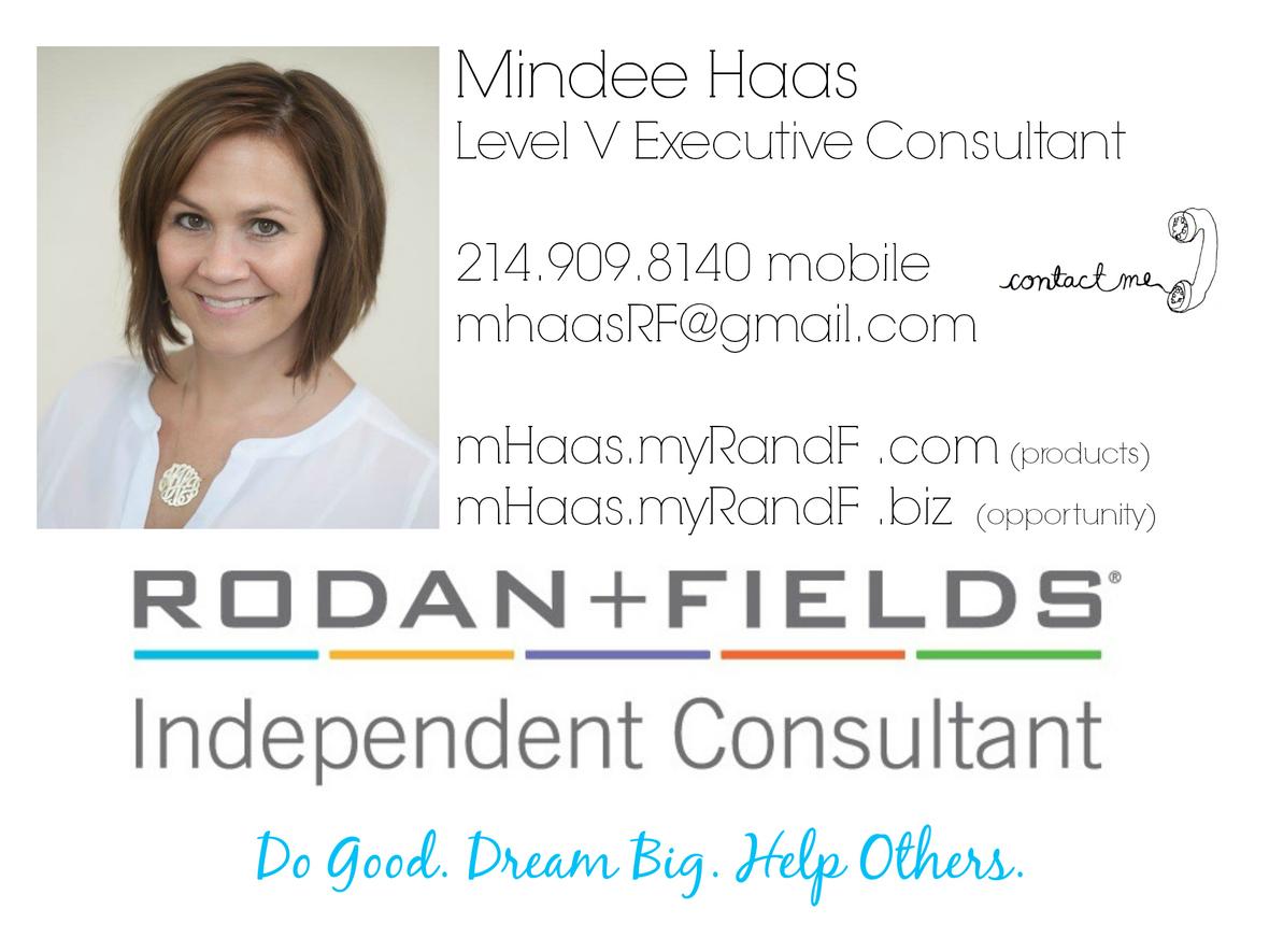 Rodan + Fields Opportunity: More Information