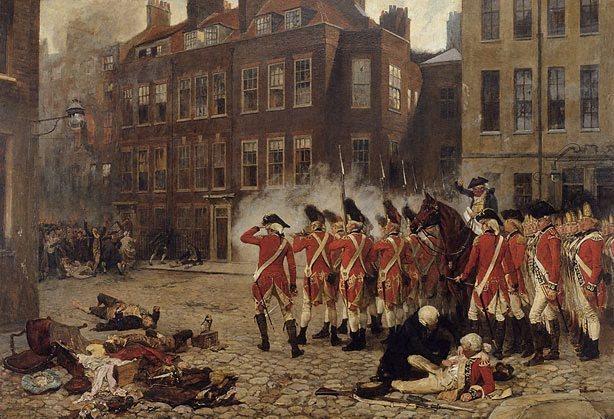 The Gordon Riots by John Seymour Lucas  1