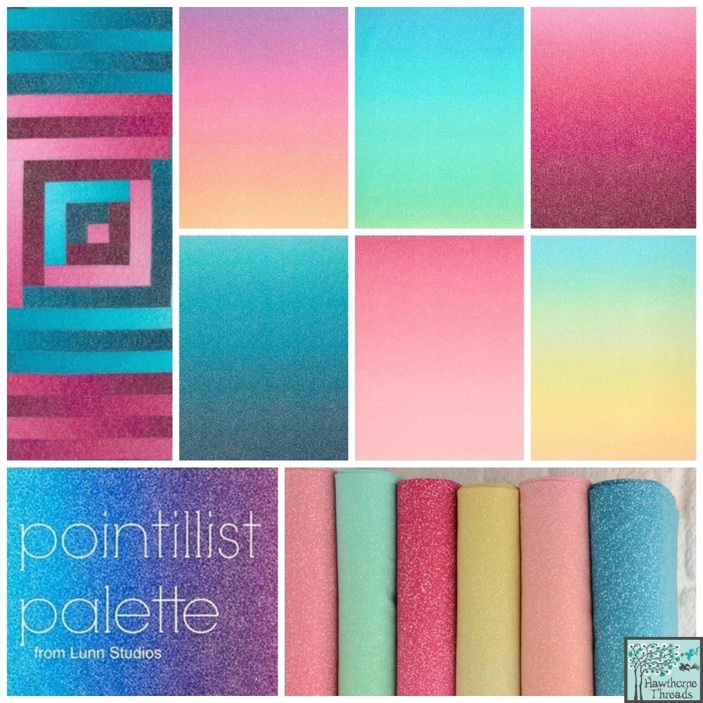 Pointillist Palette Poster