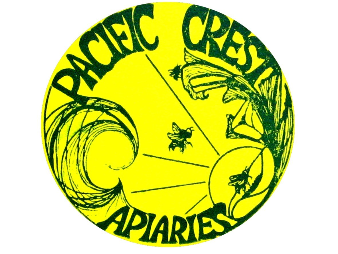 PACIFIC CREST APIARIES LOGO