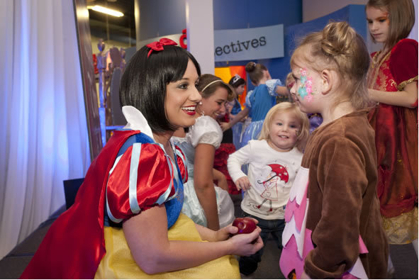Kristy as Snow White Storybook Ball