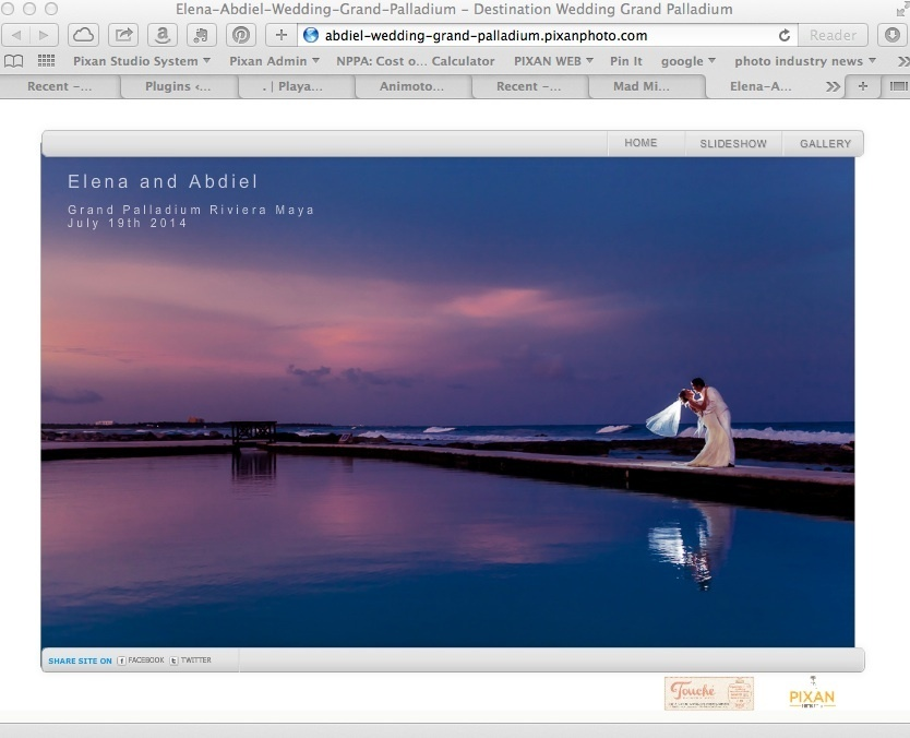 Grand Palladium Riviera Maya - wedding - minisite