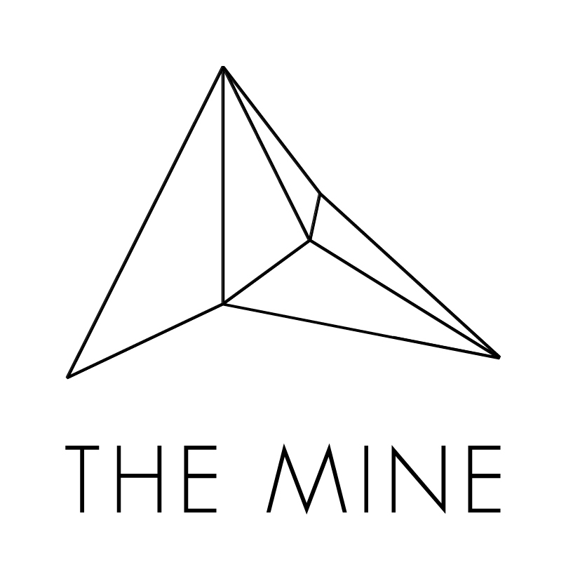 TheMine logo Black-on-White CMYK-02