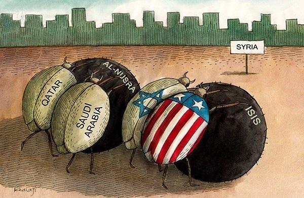 Последним расчехлился Израиль...
