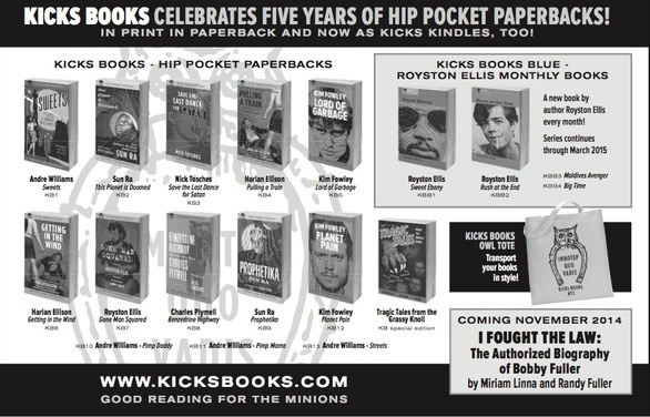 Kicks Books ad
