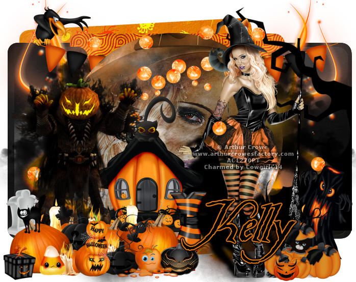 Kelly Witchy Pumpkin  14