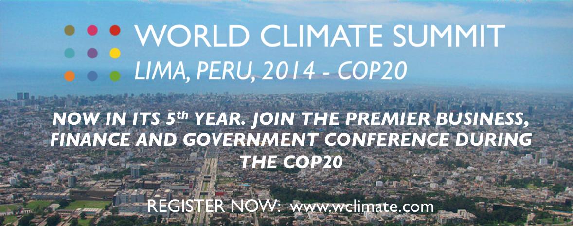 WCS2014 COP20