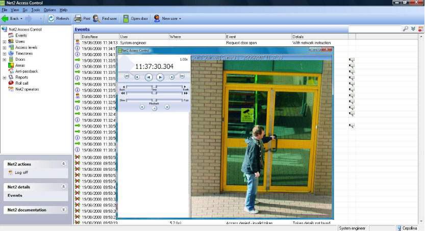 Paxton-Net2-scan cctv snapshot