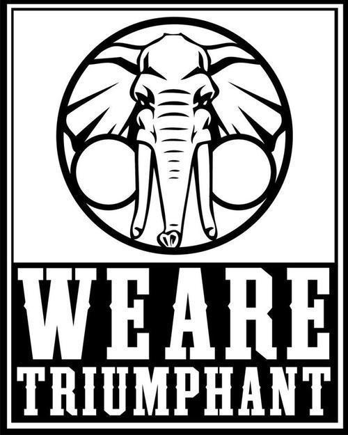 we are triumphant logo
