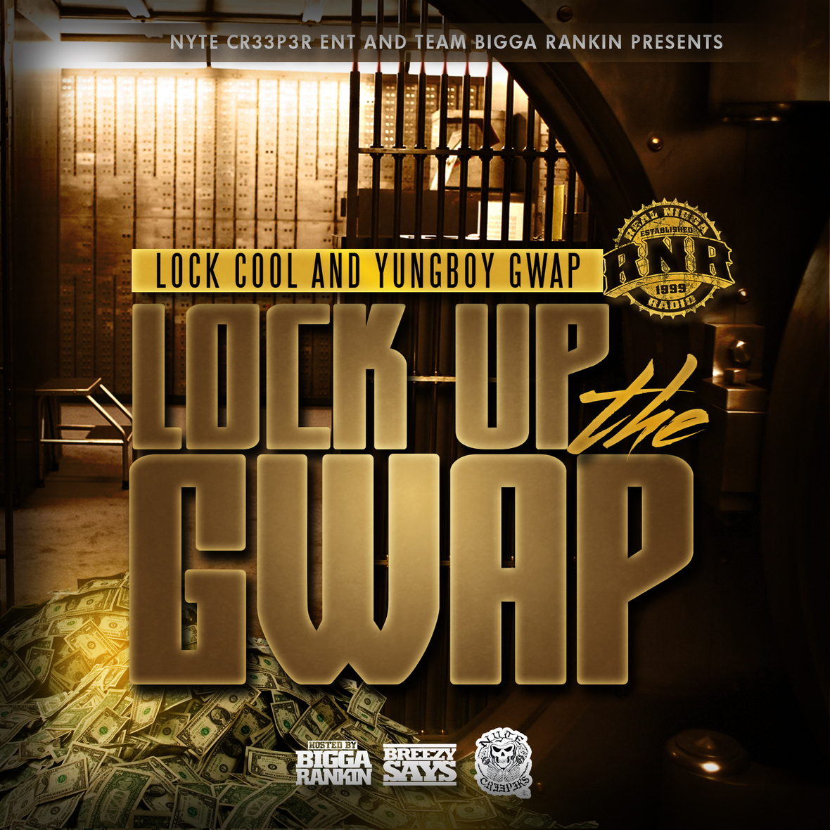 Lock Up The Gwap Front Cover