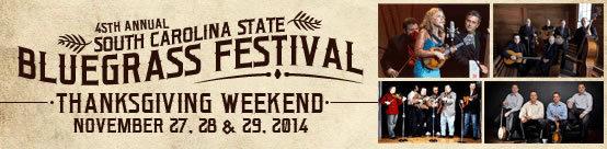 SC Bluegrass Festival