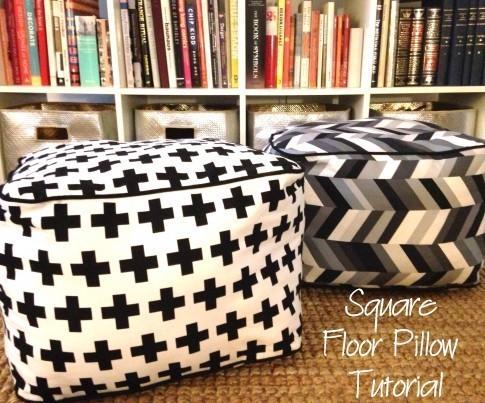 squarefloorpillows