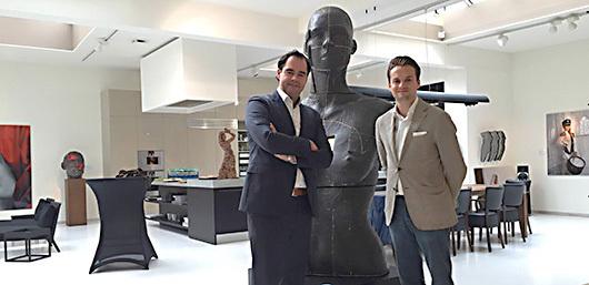 David-Begbie-with-Vanloon-Galleries-Amsterdam