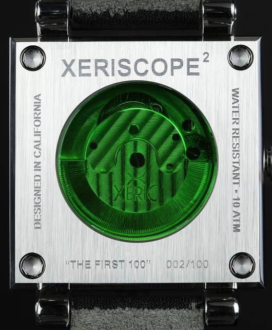 Xeric XeriscopeSquared-BlackSilver-caseback