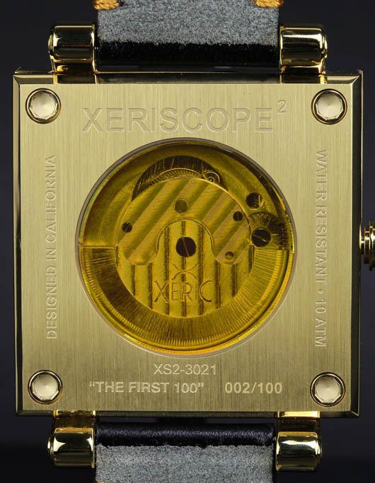 Xeric XS23021-caseback