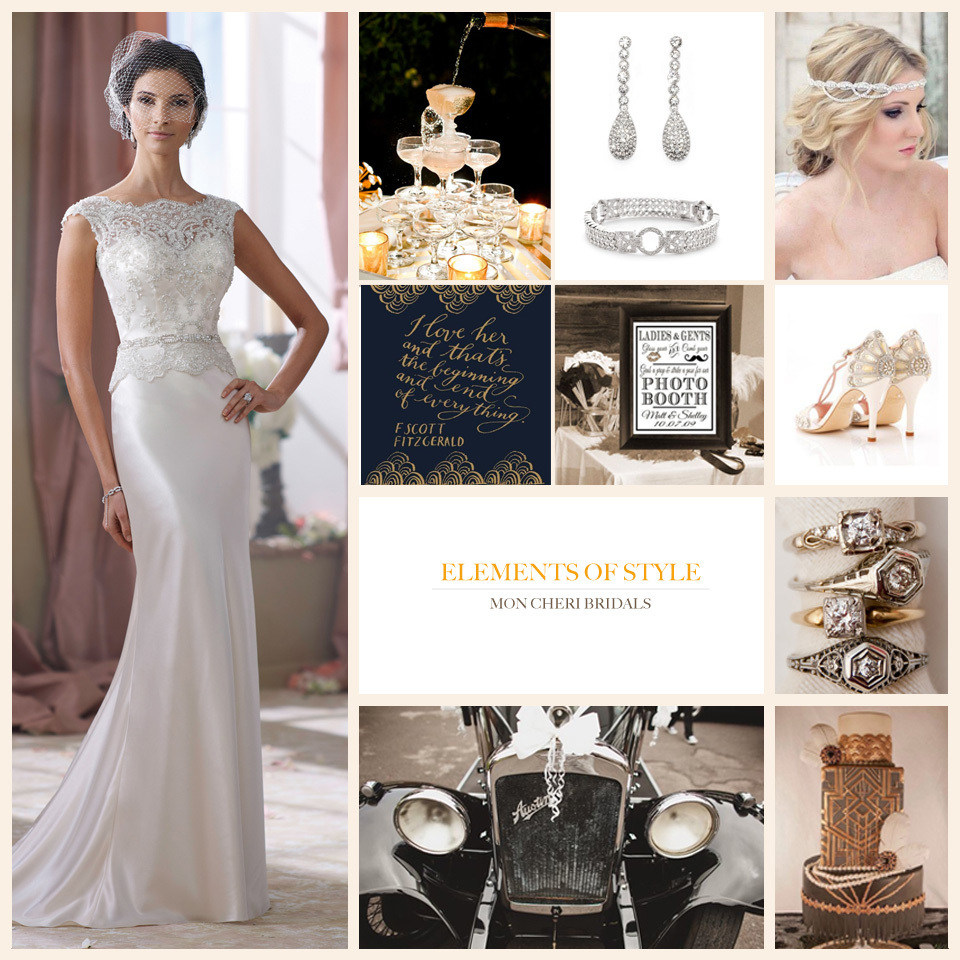 Elements of Style - Great Gatsby Wedding