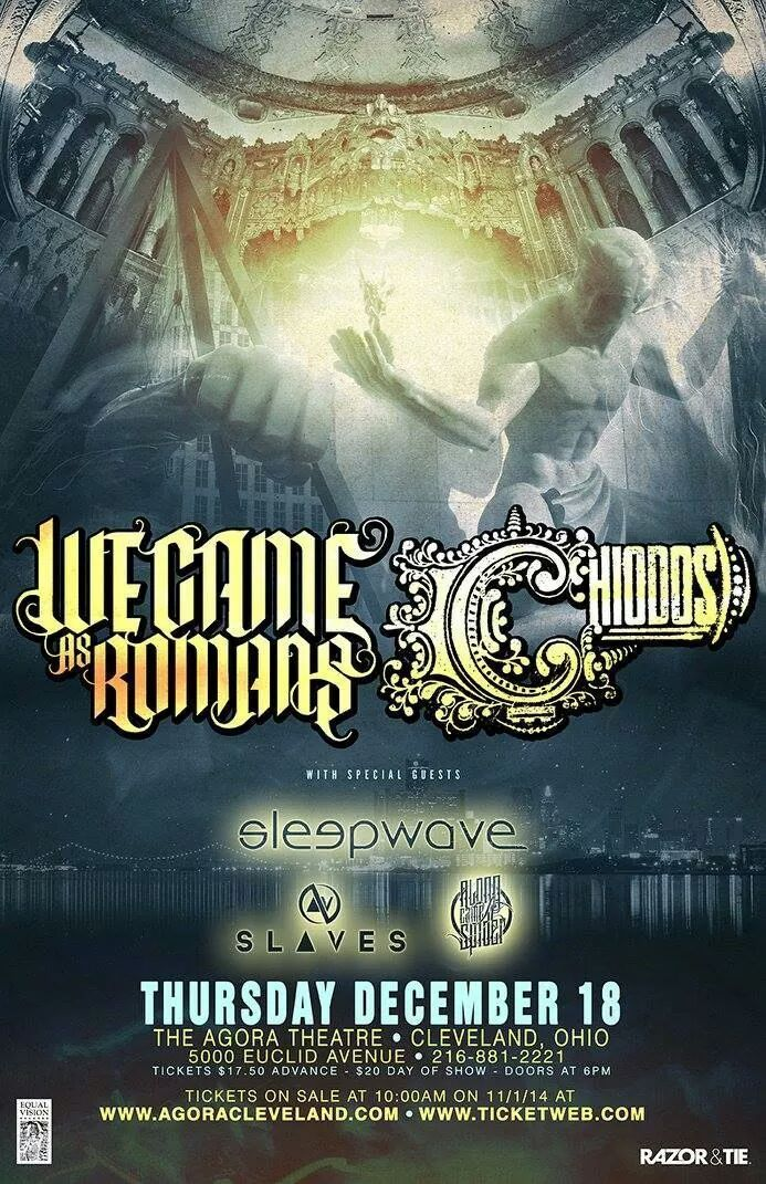 along came a spider we came as romans date
