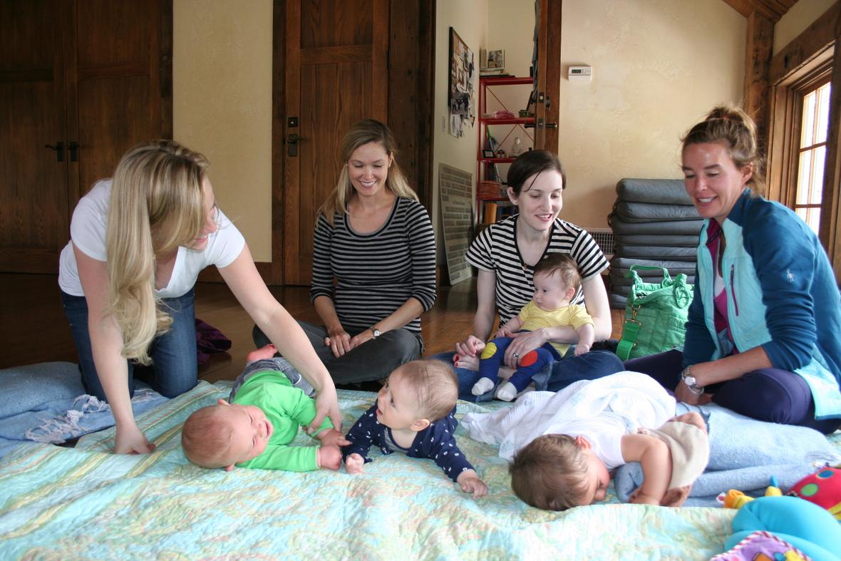Lucky Duck Infant Massage - Graduating ClassB