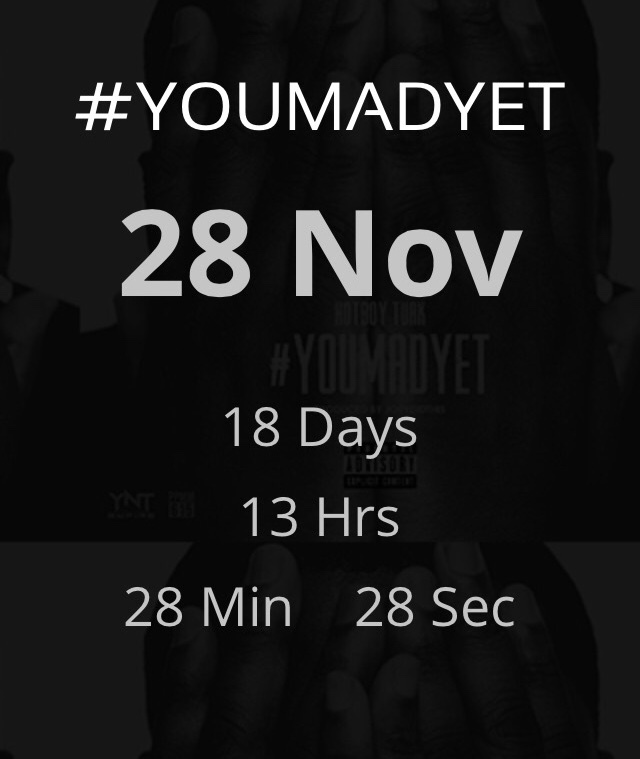 Countdown to YMY