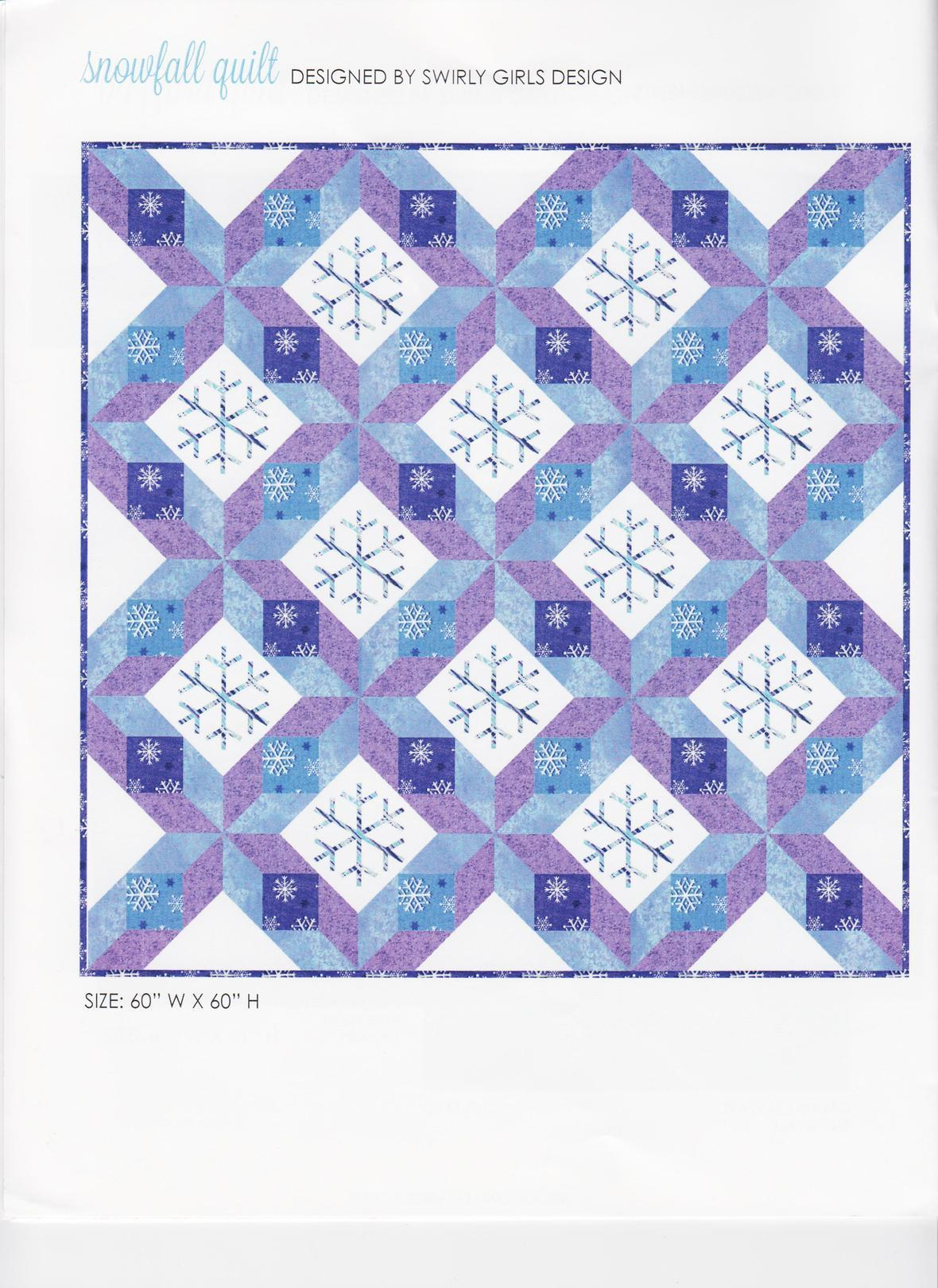 MM Winter Frost Snowfall Quilt 001