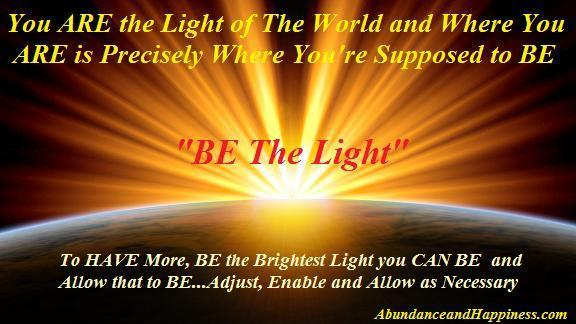 be-the-light-for-real