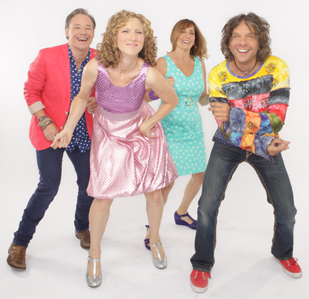 Laurie Berkner Band dancing photo credit Jayme Thornton 72 dpi