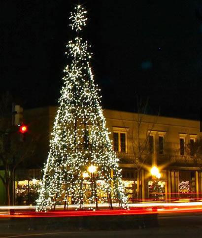 Aiken christmas tree