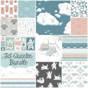 2705 fair isle fat quarter bundle