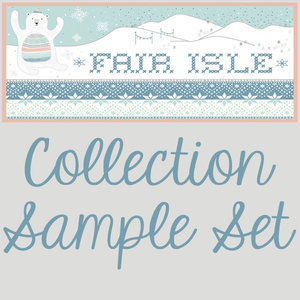 2708 fair isle sample set