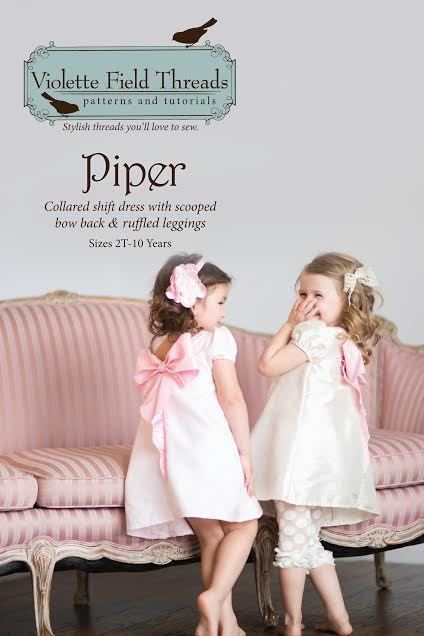 violette field threads piper dress and leggings sewing pattern