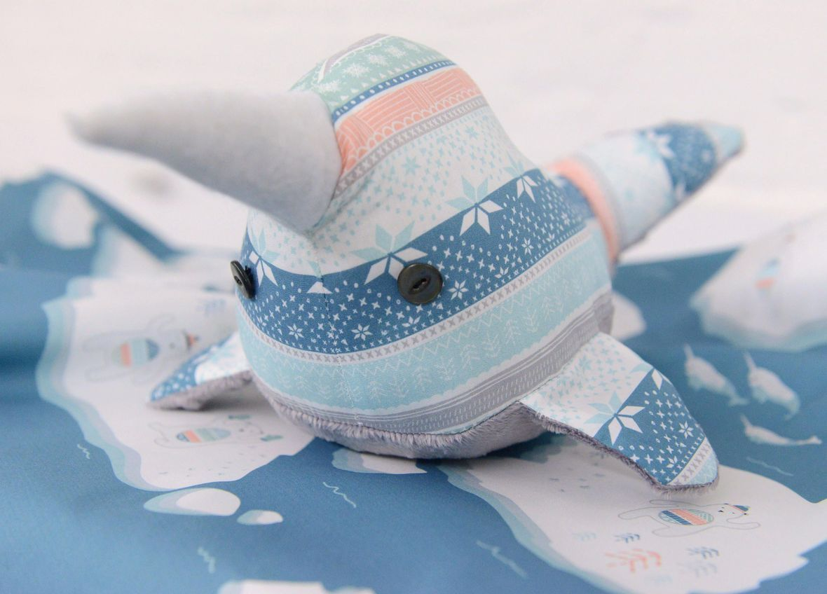 Narwhal Plush Toy 3