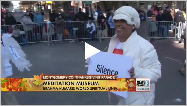 News Channel 8 MeditationMuseumThanksgiving Parade