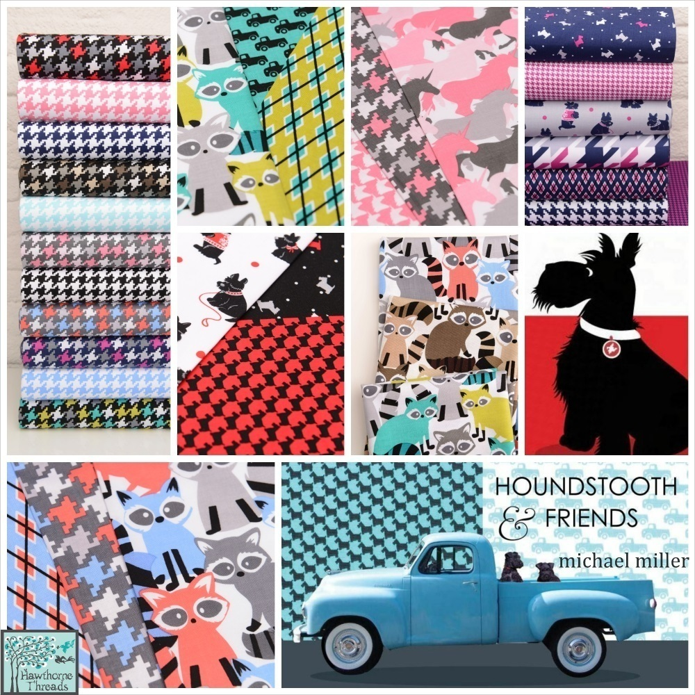 Houndstooth and Friends Poster