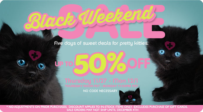 Pink Weekened Sale!