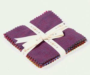 1131 shot cottons charm pack sampler in dark