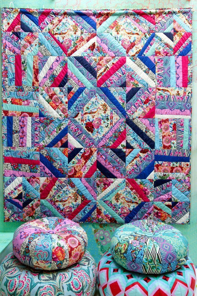 amy butler hapi quilt kit sewing pattern