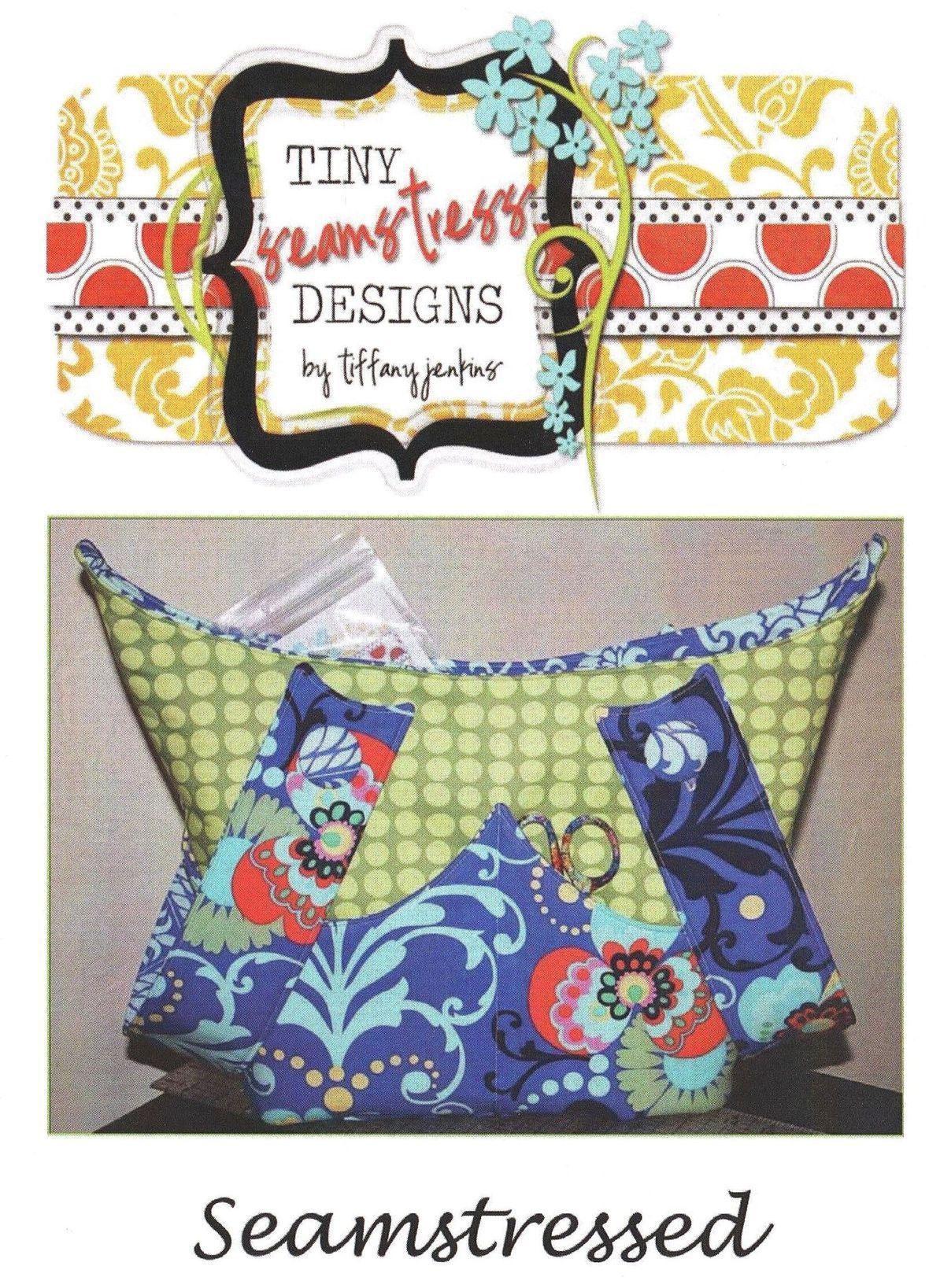 tiny seamstress designs  seamstressed sewing pattern