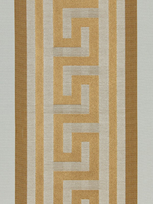 Meander Stripe - Warm Gold