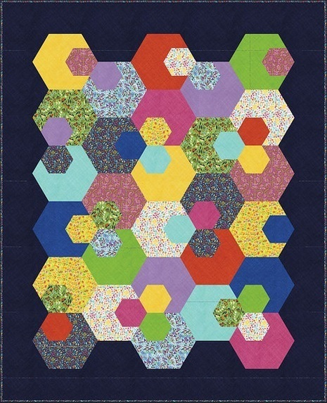 Modern Calico Quilt