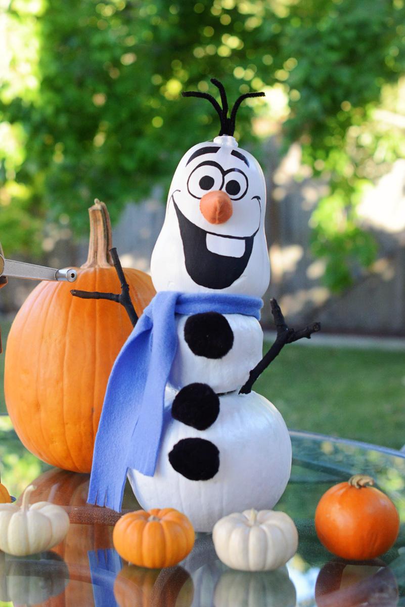 pumpkin olaf