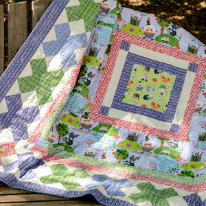 erin witt adventures of humpty dumpty quilt kit sewing pattern