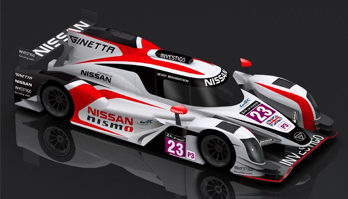 RELEASE - Ginetta Nissan LMP3 700