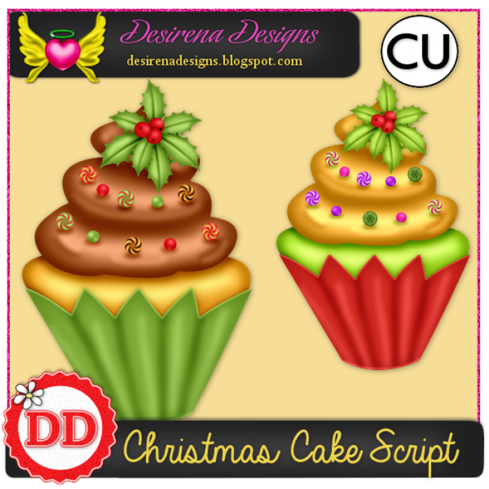 DesirenaDesigns ChristmasCake2014 ScriptCU PV-700x700