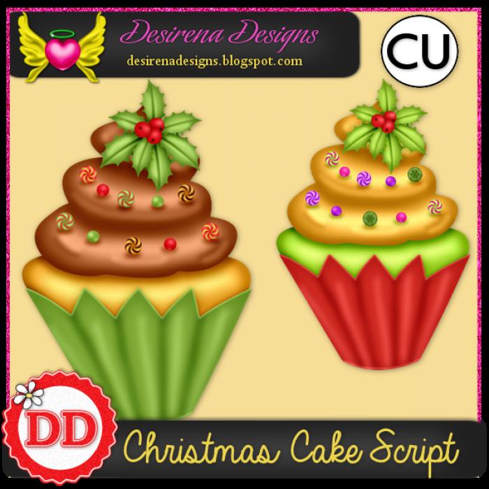 DesirenaDesigns ChristmasCake2014 ScriptCU PV-700x700