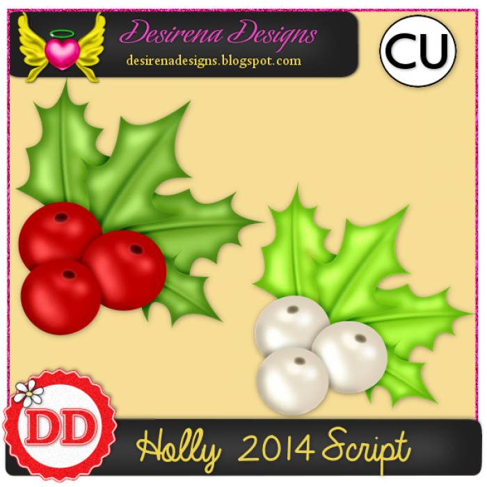 DesirenaDesigns Holly2014 ScriptCU PV-700x700