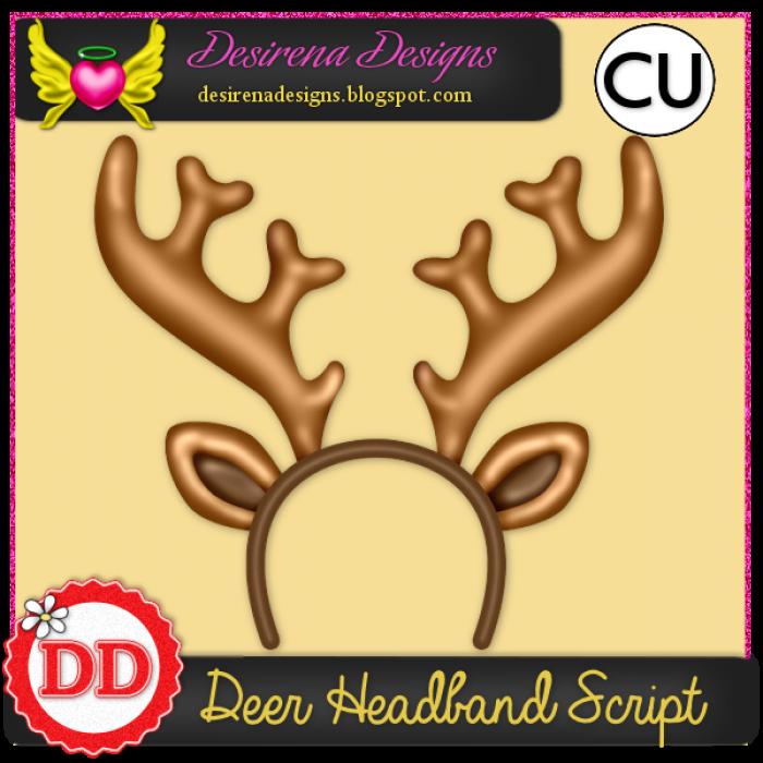 DesirenaDesigns DeerHeadband ScriptCU PV-700x700